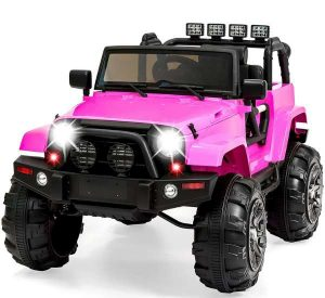 12V Kids ride on truck car RC toy