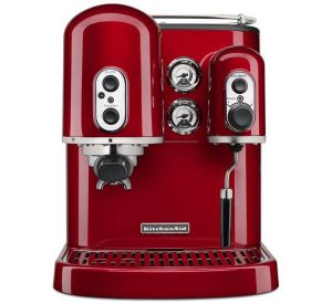 Espresso maker with dual independent boilers