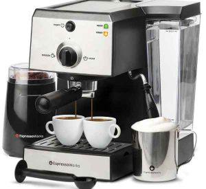 All in one espresso maker set
