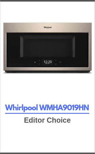 Whirlpool WMHA9019HN - editor choice