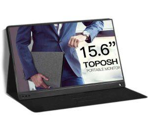 Portable console monitor