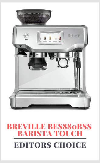 Best coffee machine with grinder and frother